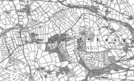 Old Map of Tregeare, 1882