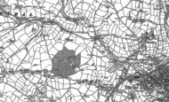 Old Map of Treliske, 1879