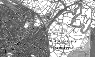 Old Map of Tremorfa, 1899 - 1916