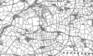 Old Map of Trenewan, 1905 - 1906