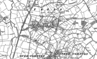 Old Map of Trent, 1901