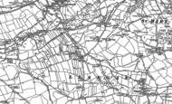Old Map of Treoes, 1897 - 1914