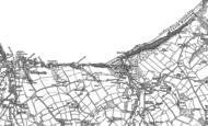 Old Map of Tresaith, 1904