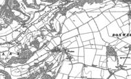 Old Map of Tresham, 1881 - 1901