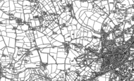 Old Map of Treswithian, 1877 - 1906