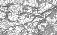 Old Map of Trethomas, 1915