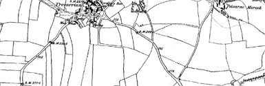 Old map of Beacon Cove centred on your home