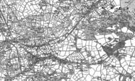 Old Map of Trevarth, 1878 - 1879