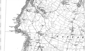 Old Map of Treven, 1905