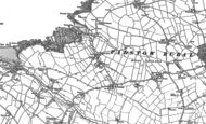 Old Map of Trevone, 1880 - 1905