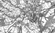 Old Map of Trevor, 1898 - 1910