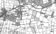Old Map of Trimdon Colliery, 1896