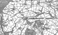 Old Map of Trimpley, 1883 - 1901
