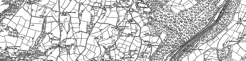 Old map of Ton-ty'r-bel in 1916