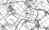 Old Map of Tringford, 1896 - 1923