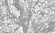 Old Map of Troedrhiwdalar, 1887 - 1904