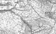 Old Map of Trough of Bowland, 1907