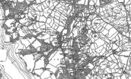 Old Map of Troutbeck Bridge, 1911
