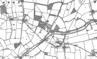 Old Map of Trull Ho, 1898 - 1901