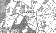 Old Map of Tunworth, 1894
