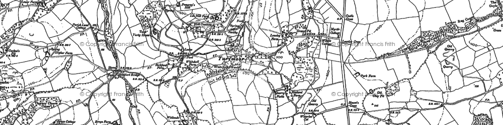 Old map of Yarty Ho in 1887