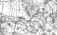 Old Map of Turners Puddle, 1885 - 1887
