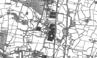 Old Map of Turnford, 1896 - 1915