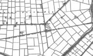 Old Map of Twenty, 1886 - 1887