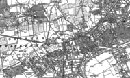 Old Map of Twickenham, 1912
