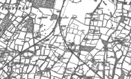 Old Map of Two Mile Ash, 1896