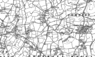 Old Map of Twyford, 1900