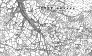 Old Map of Tynygraig, 1886