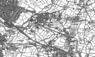 Old Map of Tyseley, 1886 - 1903