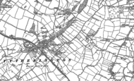 Old Map of Tytherington, 1879 - 1880