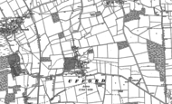 Old Map of Ufford, 1885 - 1899