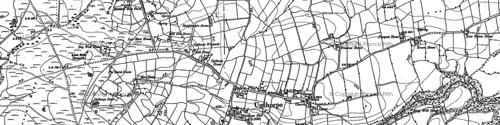 Old map of Wilks Rigg in 1892