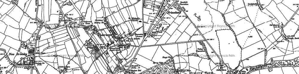 Old map of Willey Spring in 1879