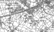 Old Map of Up Hatherley, 1884