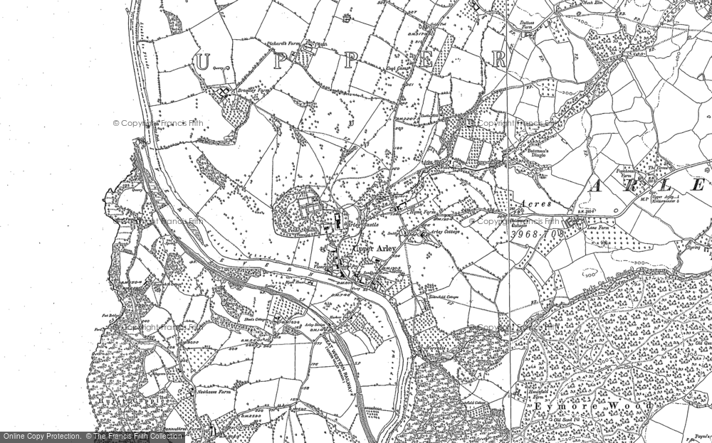 Old Maps of Upper Arley Francis Frith