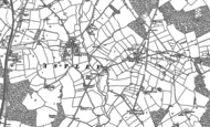 Old Map of Upper Astley, 1880 - 1881