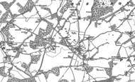Old Map of Upper Basildon, 1910