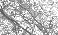 Old Map of Upper Boat, 1898