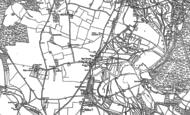 Old Map of Upper Burgate, 1895 - 1908