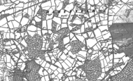 Old Map of Upper Hartfield, 1897 - 1908
