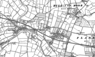 Old Map of Upper Moor, 1884