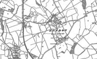 Old Map of Upper Sundon, 1881