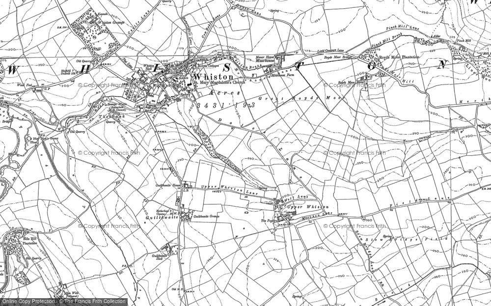 Old Maps of Rotherham Roundwalk Francis Frith