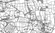 Old Map of Upton, 1885 - 1886