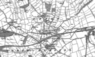 Old Map of Upton, 1891