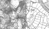 Old Map of Upton, 1894 - 1909